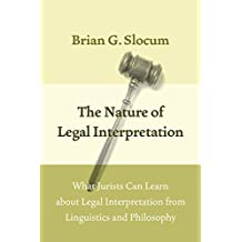 Nature of Legal Interpretation
