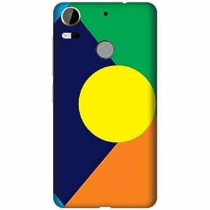Printland Designer Back Cover For HTC Desire 10 Pro - Abstract Art Designer Cases