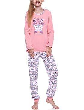 Merry Style Mädchen Schlafanzug