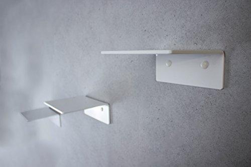 trelixx Katzentreppe Mini aus weißem PLEXIGLAS, dreistufig, 14 x 15 cm für Katzen bis 5 kg, mit...