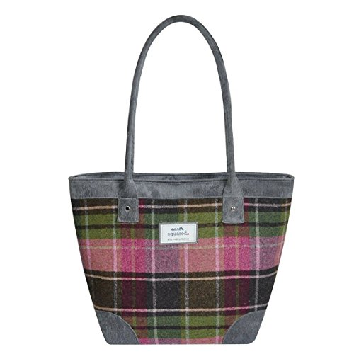 Tweed BORSA DA Earth Squared Lampone