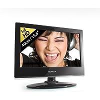 """XOMAX XM-LED1561 Television / Televisor / LED TV con 40 cm / 15,6 """" + 3 x digital Sintonizador: DVB-T, DVB-C, DVB-S2 (DVB-S) + PVR (grabador de vídeo personal): Función de grabadora de vídeo USB para unidades flash USB y discos duros externos + FULL HD + 1920 x 1080 px + 16:9 / 16:10 + DVB-T y sintonizador analógico + CI+ Common Interface plus / interfaz común además de CI + HDTV Pay-TV / canales de TV de pago de HDTV + USB conexión + MP3, MPEG2, AVI, etc. + HDMI + operación de 220 V y 12 V"""