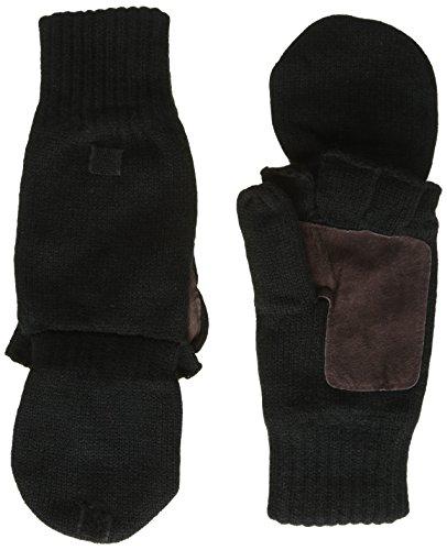 Highlander Falher warme Strickhandschuhe schwarz schwarz Large
