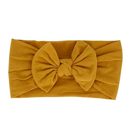 Kostüm Baby Newsboy - CommittedeBaby Mädchen elastische Haarband Bowknot Kopfband Turban Stirnband Schleife Baby Haarschmuck für Baby Kleinkinder Stirnbänder Headwrap Knot