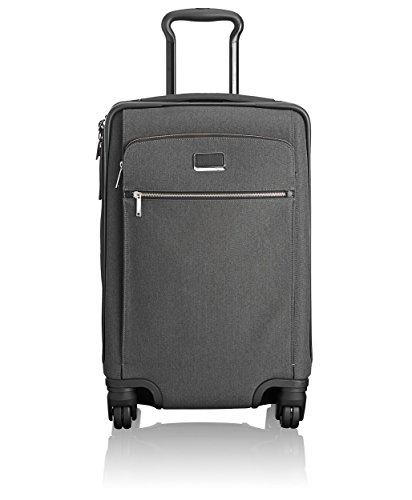 Tumi Larkin Sam International Expandable 4 Wheel Carry-On Equipaje de Mano, 56 cm, 36 Liters, Gris (Anthracite/Black)