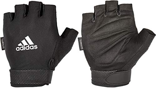 adidas Men's Heavy Weight Lifting Gloves with Natural Suede Grip -