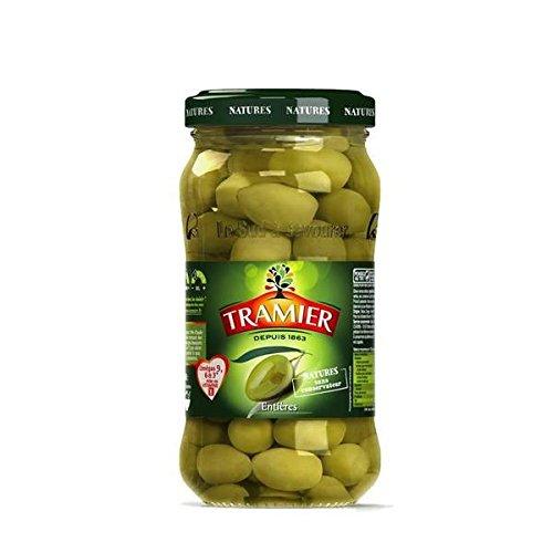 Tramier Olives vertes entières bocal 200g - ( Prix Unitaire ) - Envoi Rapide Et Soignée