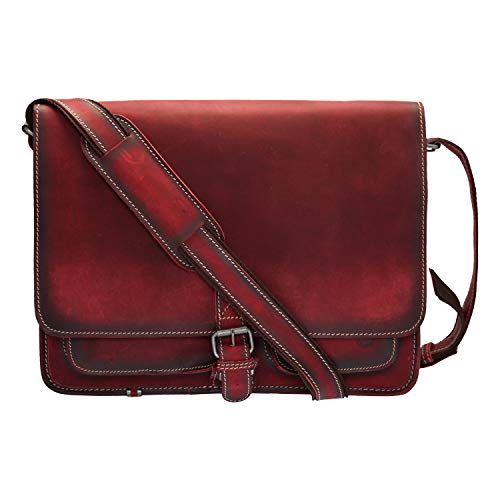 Greenburry Buffalo Aktentasche red Rot 39x32x14 cm -