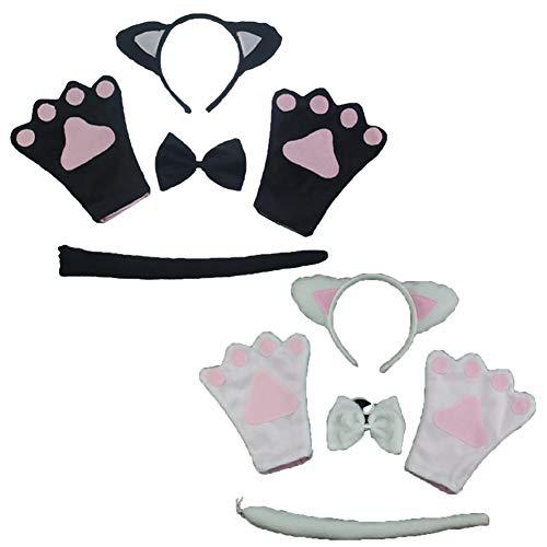 1 PCS Katze Cosplay Kitten Schwanz Ohren Kragen -