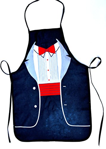 Apron for men sexy the butler black color funny