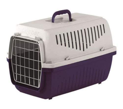 Heritage skippa-duo Transportbox aus Kunststoff Hund Welpen Katze Kätzchen Kaninchen Transport Travel Käfig