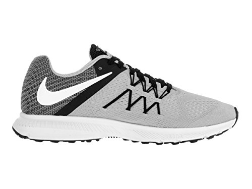 Nike Zoom Winflo 3, Chaussures de Running Entrainement Homme Gris