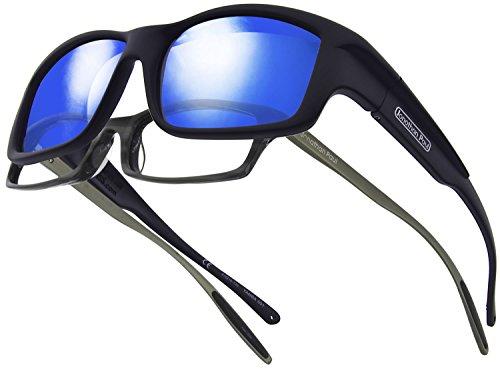 Jonathan Paul Fitovers Herren Sonnenbrille schwarz schwarz matt, schwarz, YM001BM