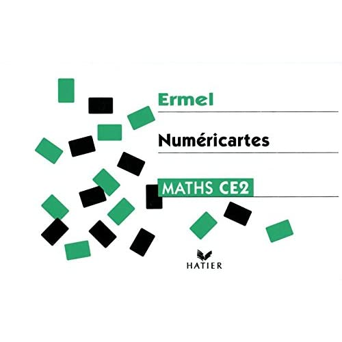 Ermel : Numéricartes - Apprentissage numériques, CE2 (matériel)