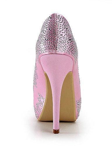 WSS 2016 Chaussures de mariage-Bleu / Rouge / Blanc / Beige-Mariage / Habillé / Soirée & Evénement-Talons / Bout Ouvert-Talons-Homme 4in-4 3/4in-blue