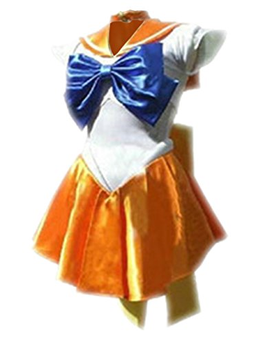 Ninimour Cosplay Sailor Venus Kostuem Schulmaedchen-Matrose Uniform Cosplay (XL, AS05)