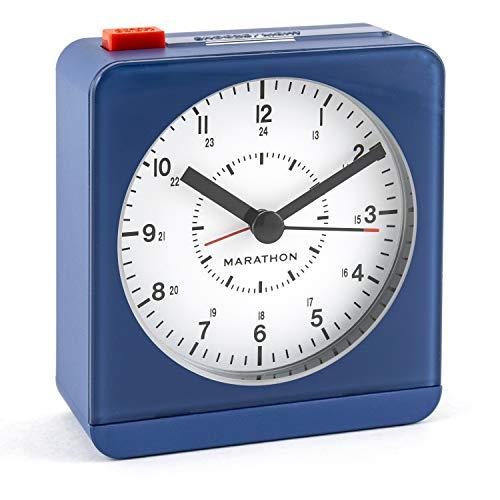 Marathon CL030052WE Digital Table Clock Gold Rechteck Uhr
