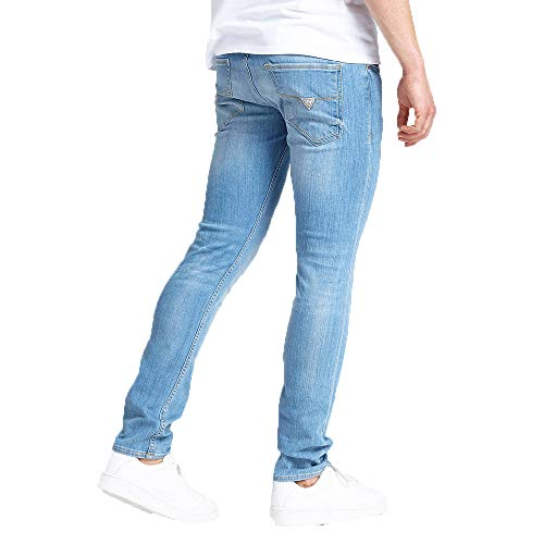 check out 624ae 888ee Guess Jeans Skinny Modello 5 Tasche Uomo M92AN1D3KS0