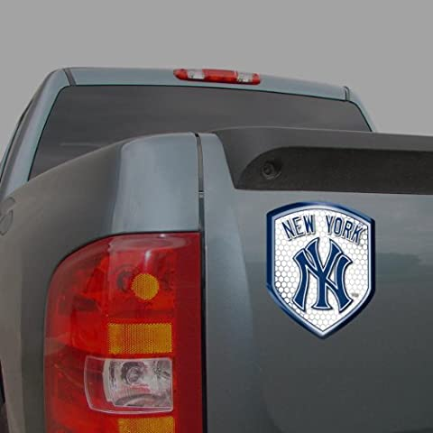 MLB New York Yankees Team Shield Automobile