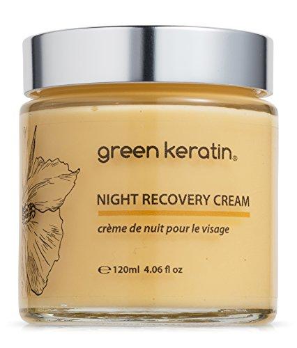Moisture Recovery Nacht Gesichtscreme mit Coenzym Q10 + Vitamin E + Hyaluronsäure und Kamille (120 ml) -