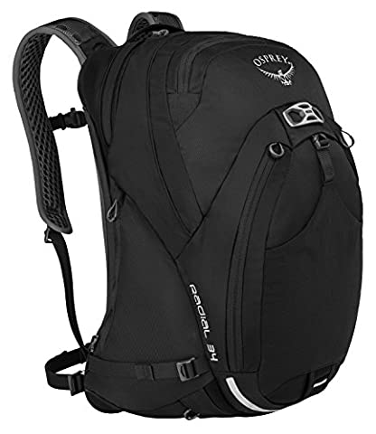 Osprey Fahrrad-Rucksack Radial 34 5-187 Black M/L