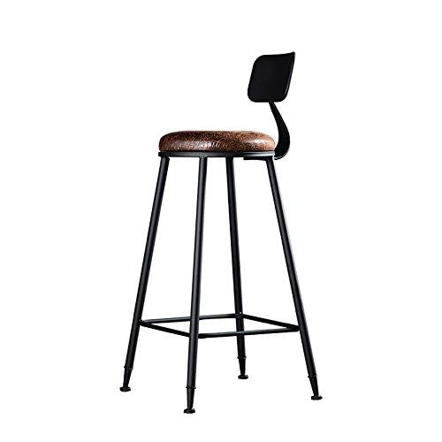 ASL Bar Creative Massivholz Bar Stuhl European Style KTV Bar Stuhl Checkout Zähler Eisen Hocker High Hocker Checkout Zähler Kissen Sessel 41 * 41 * 110cm Neu (größe : 41 * 41 * 110cm) -