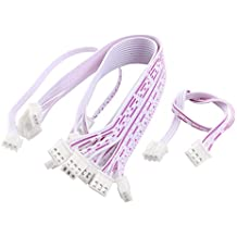 10 piezas 2,54 mm 3 pin 2S 7,4 V Lipo equilibrio JST-XH enchufe cable extensor 20,32 cm