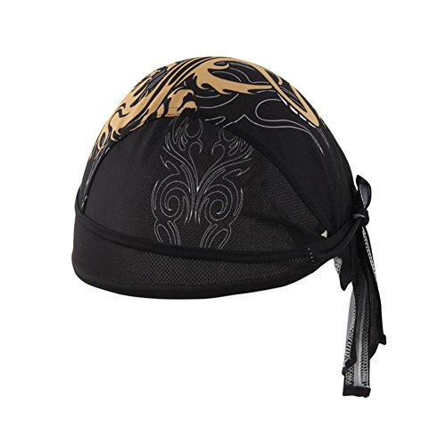 Z-P Men's Outdoor Moisture Absorption Perspiration Permeability Riding Hood Prevent Bask In UV Pirates Hat
