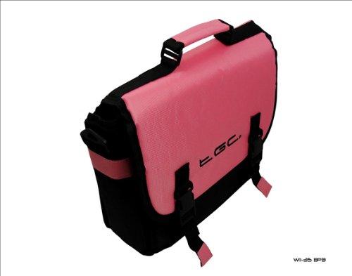 New Baby Pink & Schwarz Messenger-Stil Tragetasche für Das HP Slate 7Tablet & Cover