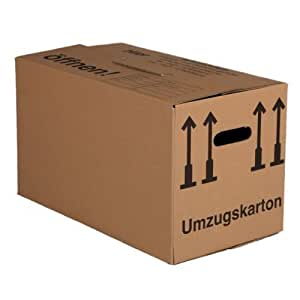 bb verpackungen umzugskartons 20 st ck basic qualit t 1 wellig f r leichte gegenst nde. Black Bedroom Furniture Sets. Home Design Ideas