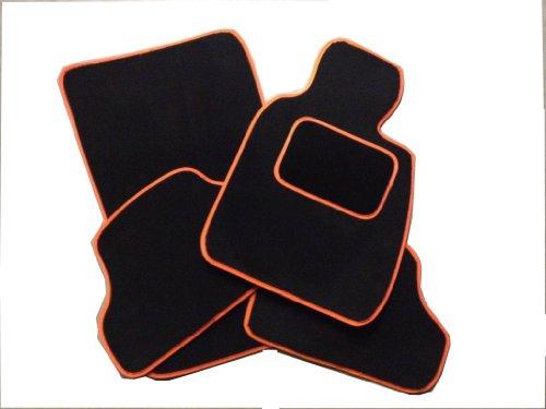 Preisvergleich Produktbild AUTOMOTIQ TOYOTA RAV4 XT2 (00-05) Schwarze Fußmatten und oranger Rand