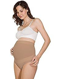 RelaxMaternity 5100 Bragas de algodón premamá con soporte abdominal, faja de maternidad