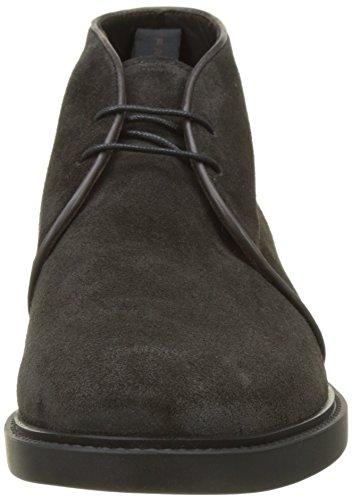 Fratelli Rossetti Herren 44727 Combat Boots Grigio (Antracite)