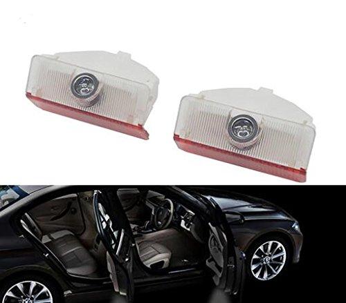 k Autotür türbeleuchtung Mercedes logo KFZ Türen Einstiegsbeleuchtung LED Laser Projektor Door Willkommen Logo Projektion Lichter für Mercedes Benz GLK A B Class X204W169 W245 ()