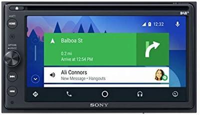 Sony XAV-AX205DB 16,3 cm (6,4 Zoll) Premium DAB Plus DVD Media Receiver (Bluetooth, Apple CarPlay/Android Auto, Navigation)