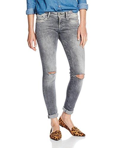 Pepe Jeans Damen Pixie Jeans, Grau (Denim 000-d84), W26/L30 (Herstellergröße: 26) - Grau Pixie