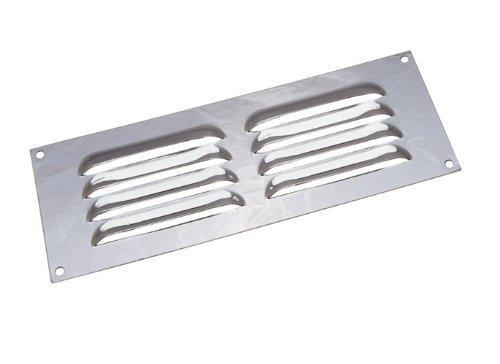Kühlergrill verchromt Louvre ventilation Abdeckung 9 x 3 Zoll (Packung mit 2)