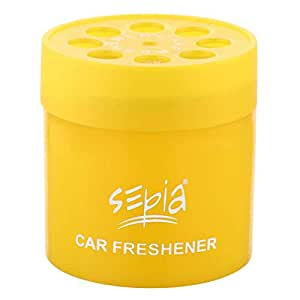 Sepia Citrus Fresh Oil Base Car Air Freshener (80g)