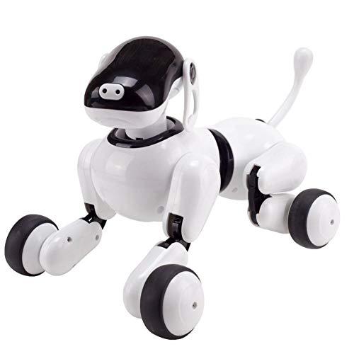 Liteness - Electronic Smart Dog - Jouet éducatif pour Animaux de Compagnie télécommandé pour Chien Robot Intelligent pour...