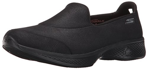 Skechers Women Go Walk 4-Inspire Low-Top Sneakers, Black (Bbk), 6 UK 39...
