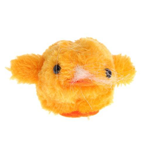 Qiuxiaoaa Pet Toys Plüsch Katzenminze Vibration Spielzeug Simulierte Tier Ziehen Schwanz Shake Interaktive Katze Kätzchen Lustige Ente -