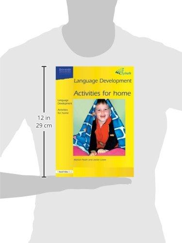 Language Development Activities for Home (Spirals)