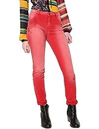 Pant Para Pantalones Mujer angelinass Desigual qdzWf6
