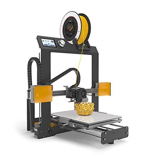 BQ Hephestos 2 - Impresora 3D (resolución 50 micras, velocidad 200 mm/s, micro-USB tipo B, tarjeta SD 4 GB, espátula)
