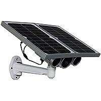 Telecamera Ip Wireless LKM Security® con pannello solare e batteria da Esterno P2P Wifi HD 720P