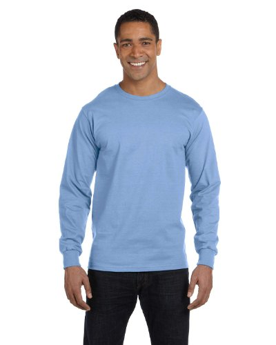 The Elevators auf American Apparel Fine Jersey Shirt Hellblau