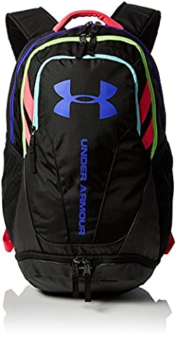 Under Armour Unisex Adults' Hustle 3.0 Backpack - Black, One Size