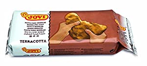 Jovi- Pasta para modelar, Color Terracotta, 1000 g (89)