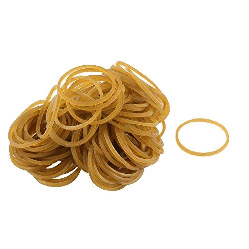 Gummi Flexible Haar bindet Seil Loom Refill-Bänder 160 Stück Brown