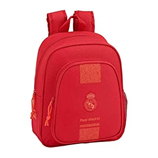 41aVOSB5eTL. SS324  - Real Madrid CF- Real Madrid Mochila Infantil, Color Rojo (SAFTA 611957524)